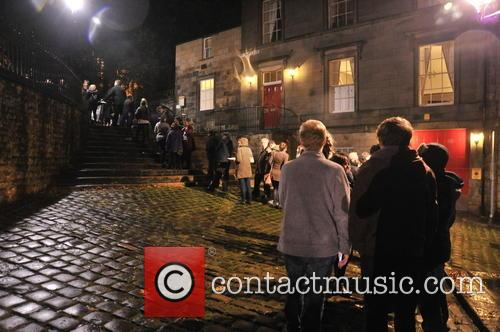 Public Queue For Labour Party Meeting and Lancaster Priory 5