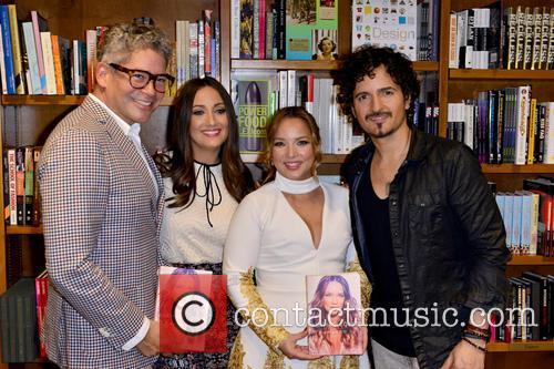 Boris Izaguirre, Karla Monroig, Adamari Lopez and Tommy Torres 2