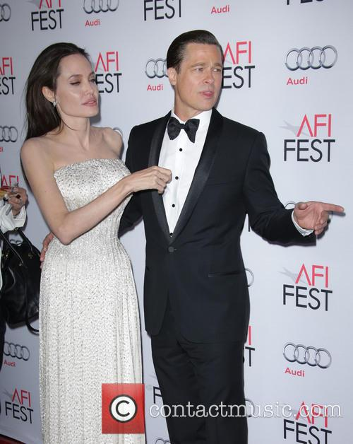 Brad Pitt and Angelina Jolie Pitt 4