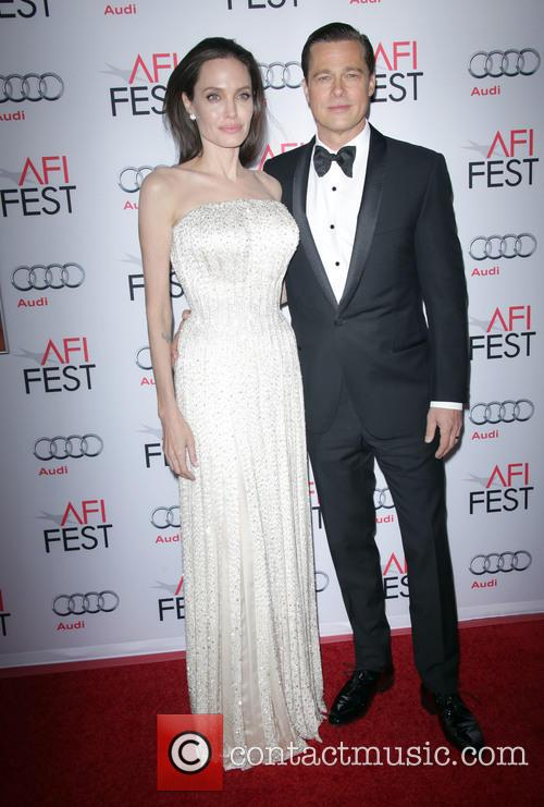 Angelina Jolie Pitt and Brad Pitt 7