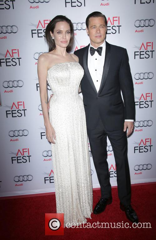 Angelina Jolie Pitt and Brad Pitt 8