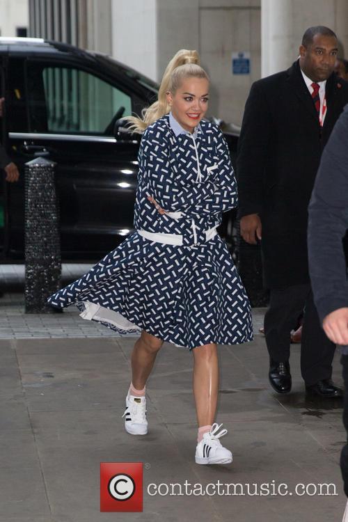 Rita Ora and Sigma 2