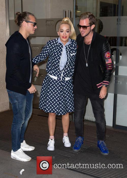 Rita Ora and Sigma 5
