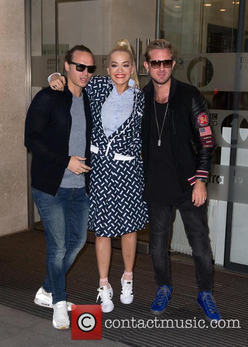 Rita Ora and Sigma 8