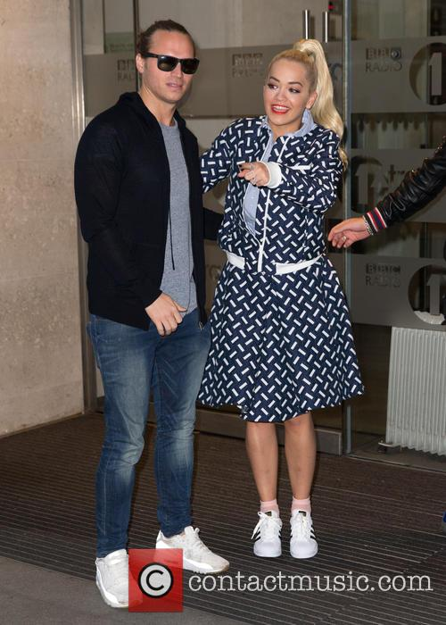 Rita Ora and Sigma 10