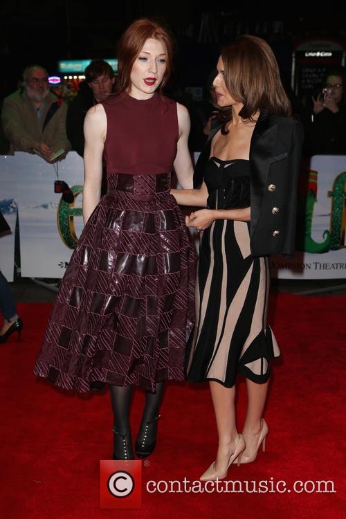 Nicola Roberts and Cheryl Fernandez-versini 1