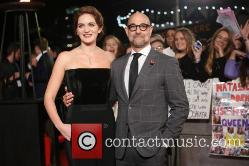 Felicity Blunt and Stanley Tucci 2