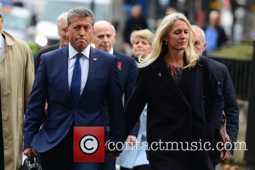 Neil Fox arrives at' Court at start of...