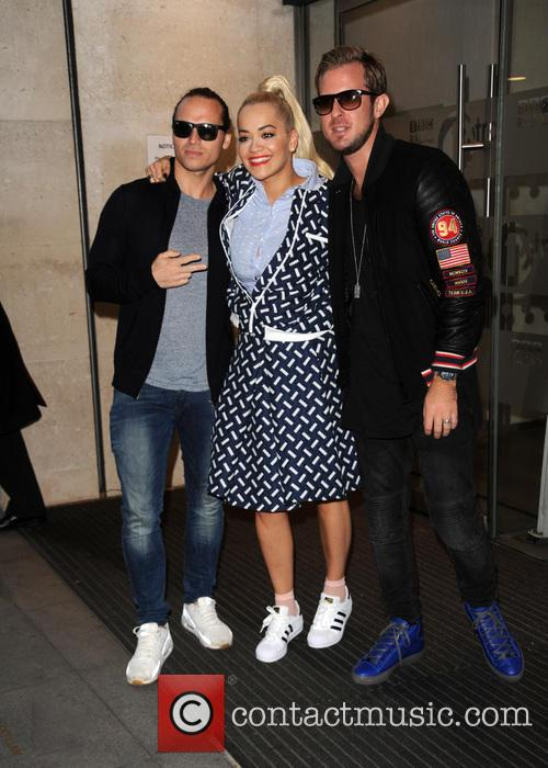 Rita Ora and Sigma 6