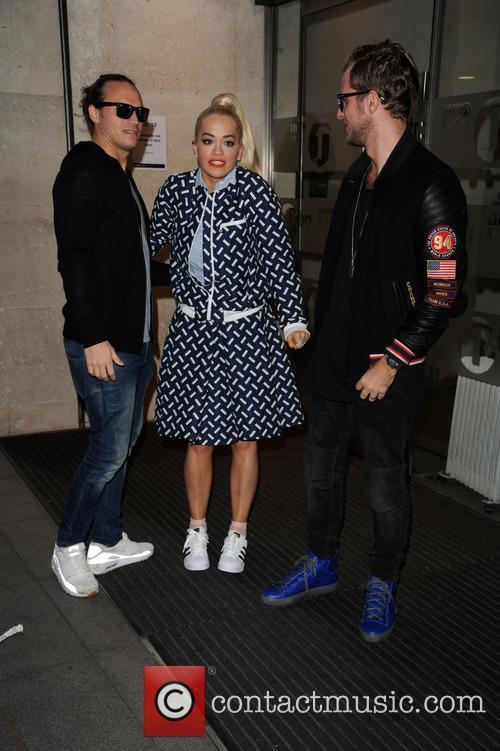 Rita Ora and Sigma 7