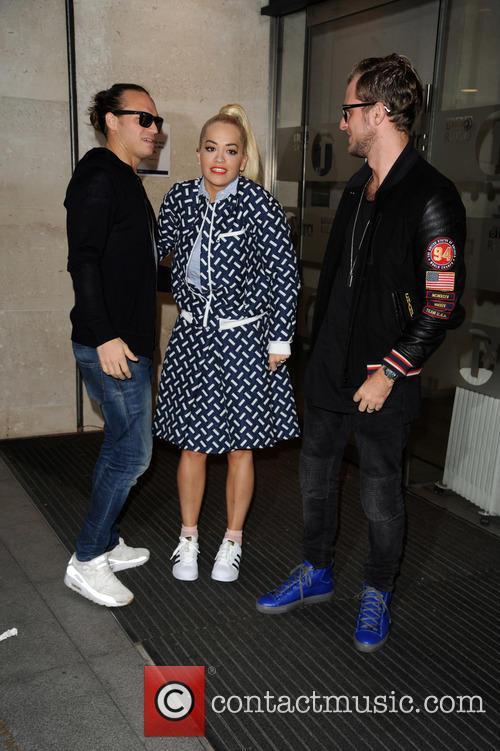 Rita Ora and Sigma 11