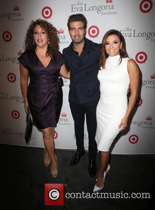 Jencarlos Canela, Eva Longoria and Guest 2