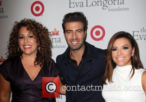 Jencarlos Canela, Eva Longoria and Guest 3