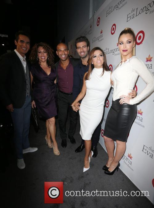 Jose Moreno Brooks, Amaury Nolasco, Jencarlos Canela, Eva Longoria and Jadyn Douglas 3