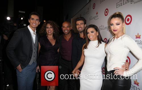 Jose Moreno Brooks, Amaury Nolasco, Jencarlos Canela, Eva Longoria and Jadyn Douglas 4