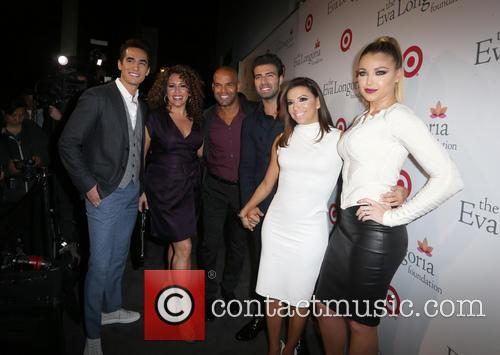 Jose Moreno Brooks, Amaury Nolasco, Jencarlos Canela, Eva Longoria and Jadyn Douglas 5