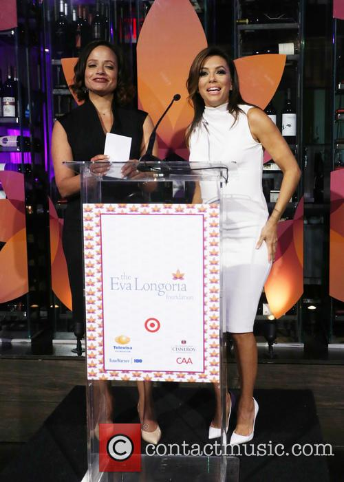 Judy Reyes and Eva Longoria 2