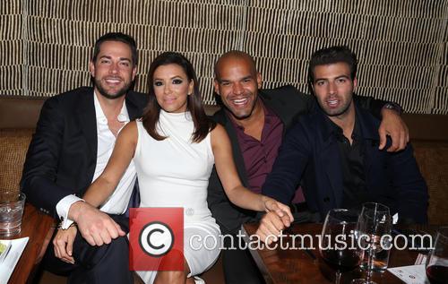 Zachary Levi, Eva Longoria, Amaury Nolasco and Jencarlos Canela 3