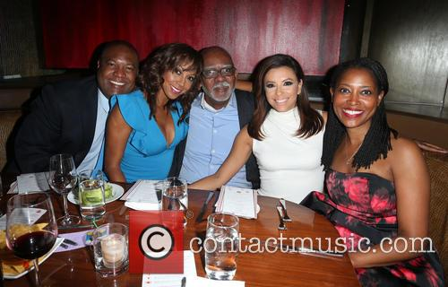Rodney Peete, Holly Robinson Peete, Eva Longoria and Laysha Ward 3
