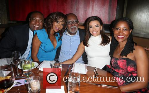 Rodney Peete, Holly Robinson Peete, Eva Longoria and Laysha Ward 4