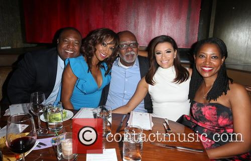 Rodney Peete, Holly Robinson Peete, Eva Longoria and Laysha Ward 5