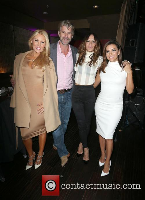 Gretchen Rossi, Slade Smiley, Robin Antin and Eva Longoria 1