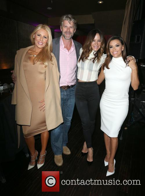 Gretchen Rossi, Slade Smiley, Robin Antin and Eva Longoria 2