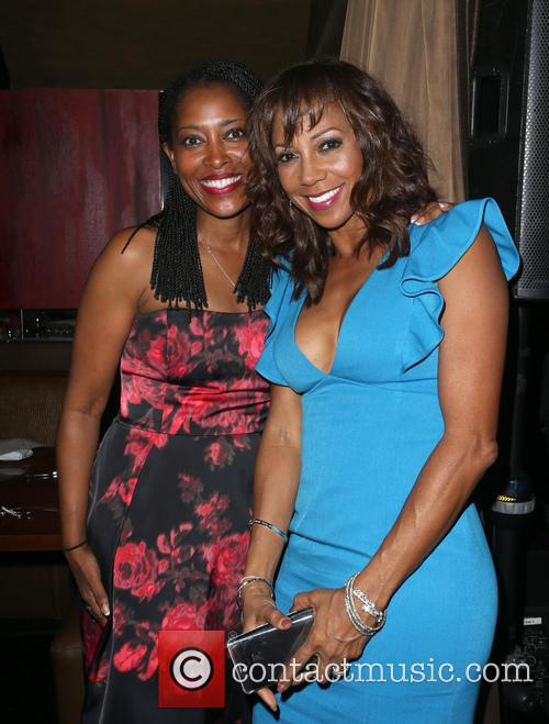 Laysha Ward and Holly Robinson Peete 4
