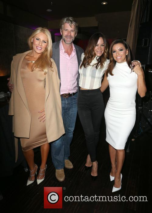 Gretchen Rossi, Slade Smiley, Robin Antin and Eva Longoria 3