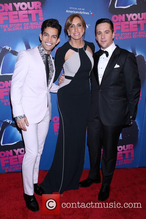Carlos E. Gonzalez, Lili Estefan and Guest 3