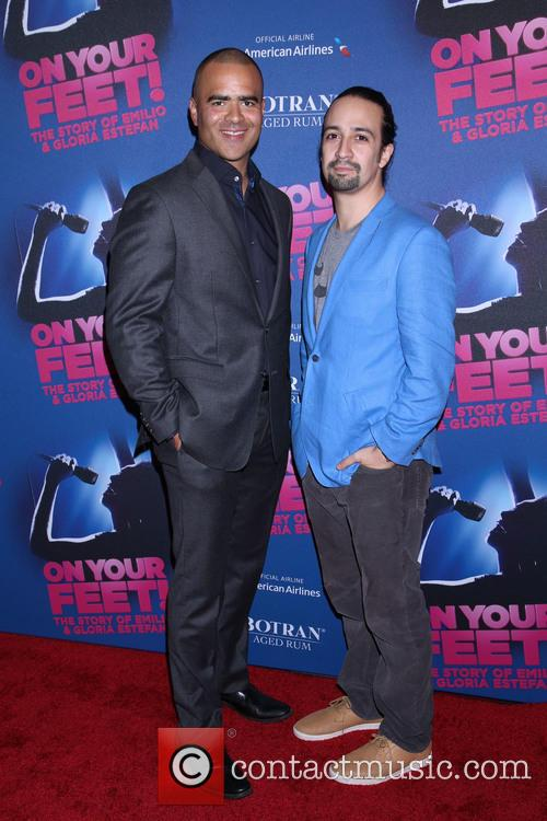 Christopher Jackson and Lin-manuel Miranda 1