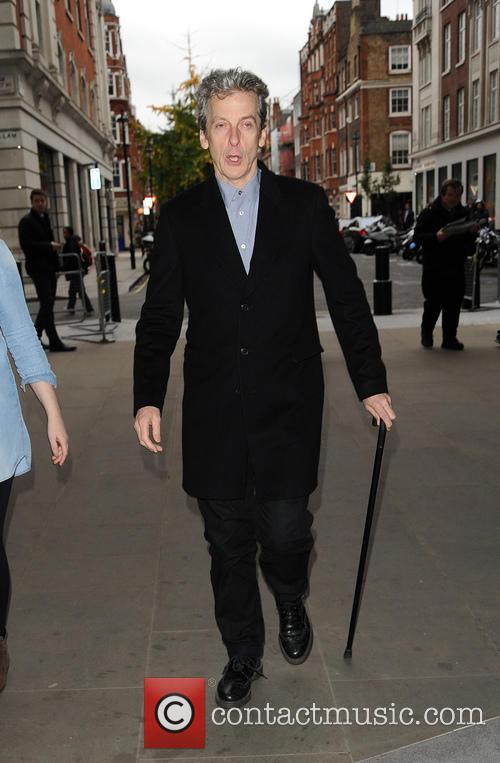 Peter Capaldi at BBC Radio