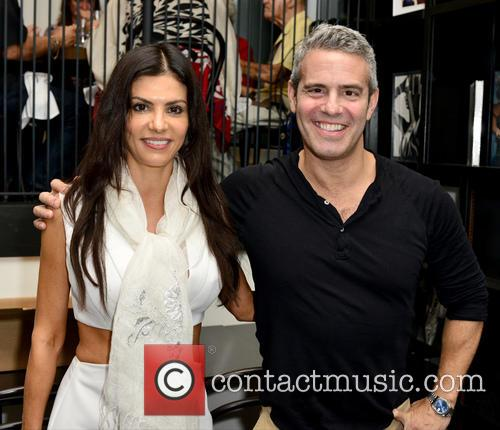 Adriana De Moura and Andy Cohen 1