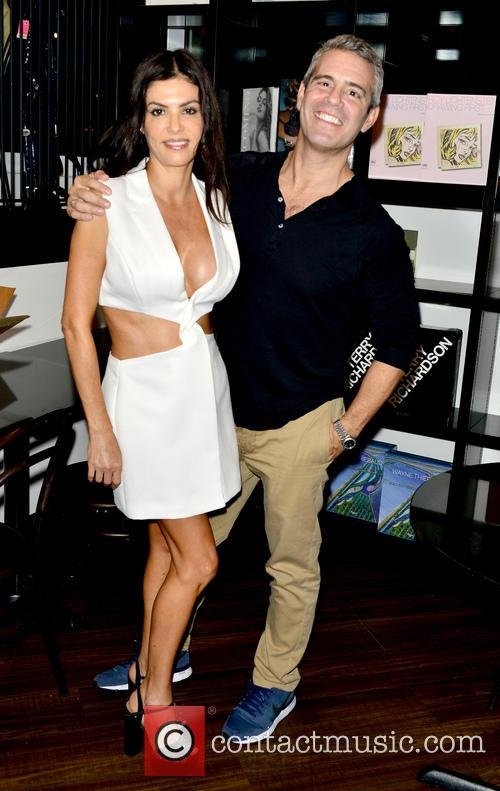 Adriana De Moura and Andy Cohen 2