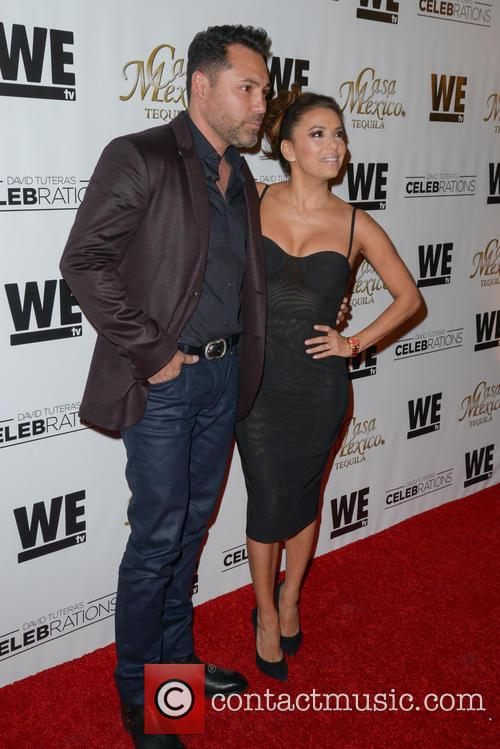 Oscar De La Hoya and Eva Longoria 1