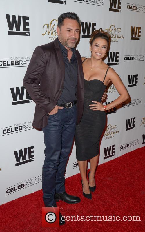 Oscar De La Hoya and Eva Longoria 2
