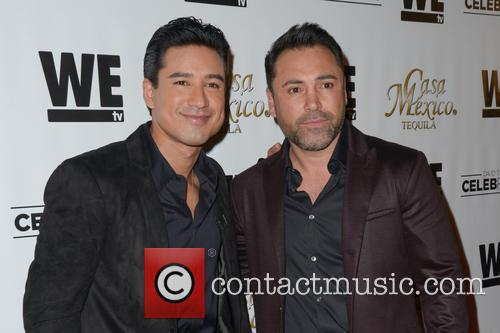 Mario Lopez and Oscar De La Hoya 7