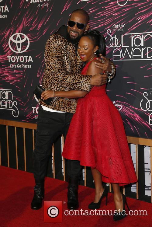 R. Kelly and Naturi Naughton 1