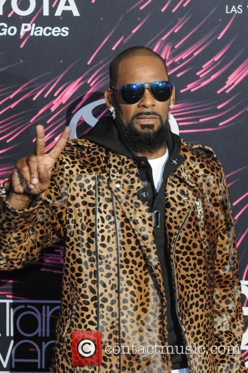 R. Kelly at Soul Train Music Awards