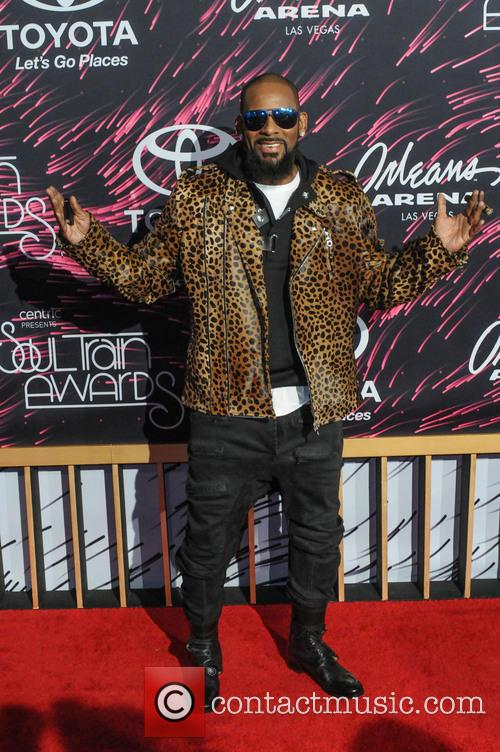 R. Kelly at the Soul Train Music Awards