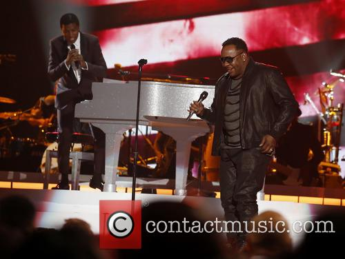Kenny Baby Face Edmonds and Bobby Brown 1