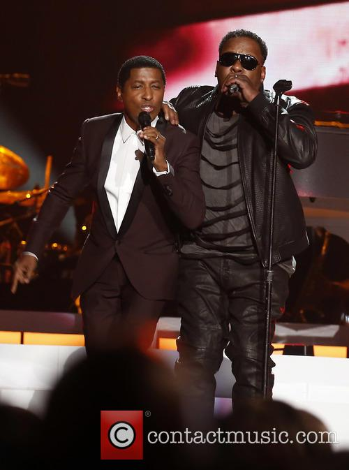 Kenny Baby Face Edmonds and Bobby Brown 2