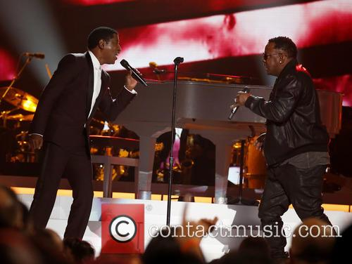 Kenny Baby Face Edmonds and Bobby Brown 4