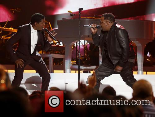 Kenny Baby Face Edmonds and Bobby Brown 5