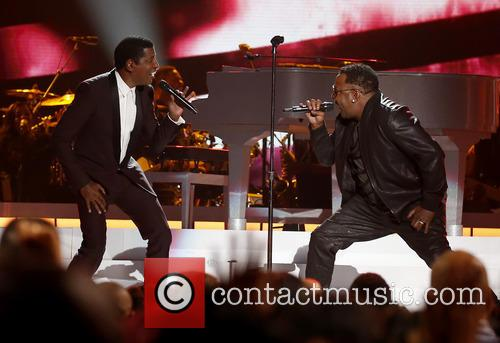 Kenny Baby Face Edmonds and Bobby Brown 6