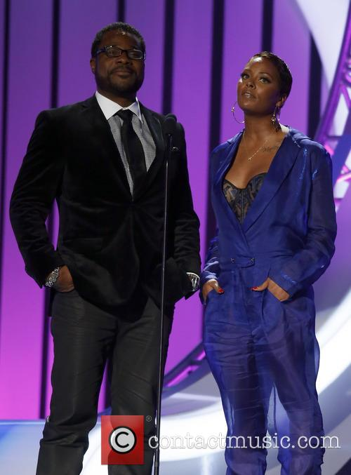 Malcolm Jamal Warner and Eva Marcille 8