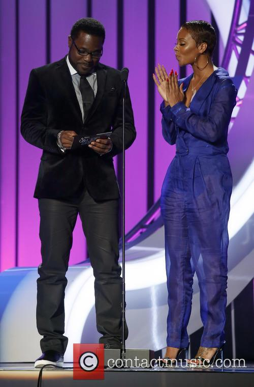 Malcolm Jamal Warner and Eva Marcille 10