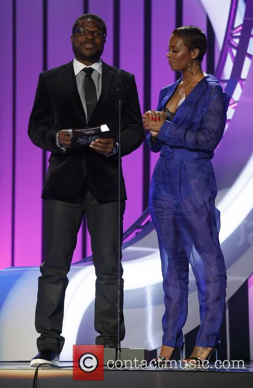 Malcolm Jamal Warner and Eva Marcille 11