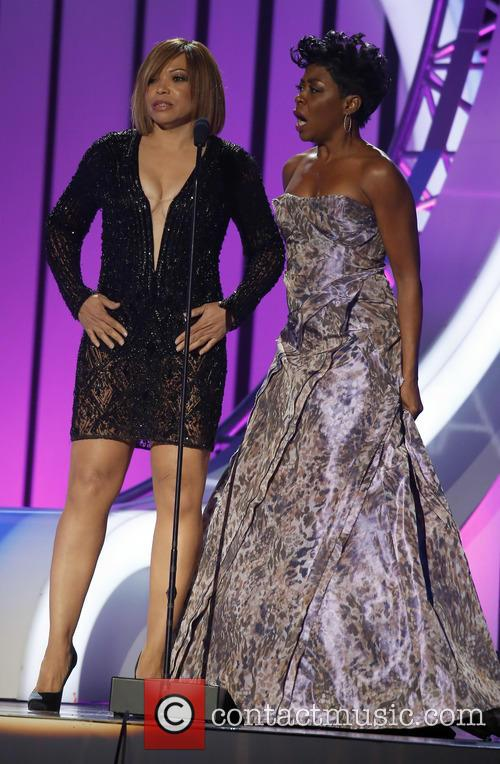 Tisha Campbell-martin and Tichina Arnold