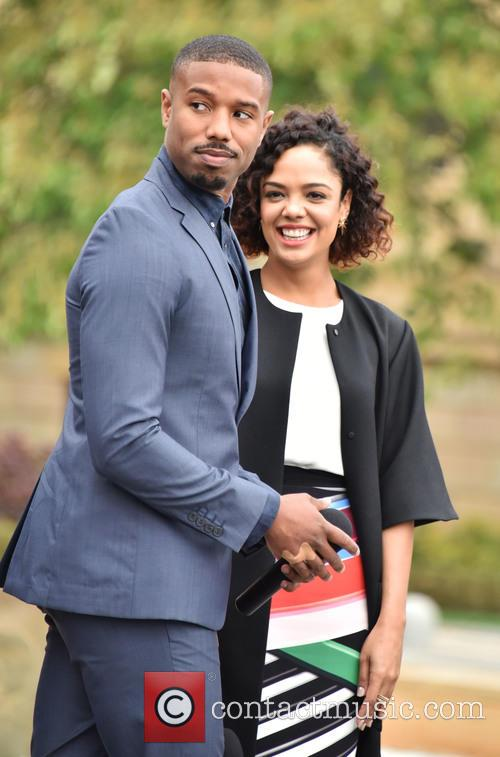 Michael B. Jordan and Tessa Thompson 2